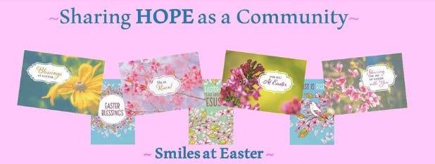 New Step has purchased cards you can sign for free, or homemade cards can be dropped off.