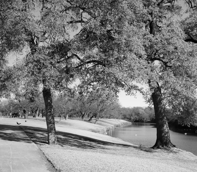 Riverside Park is pictured on a pleasant autumn day in 2020.
