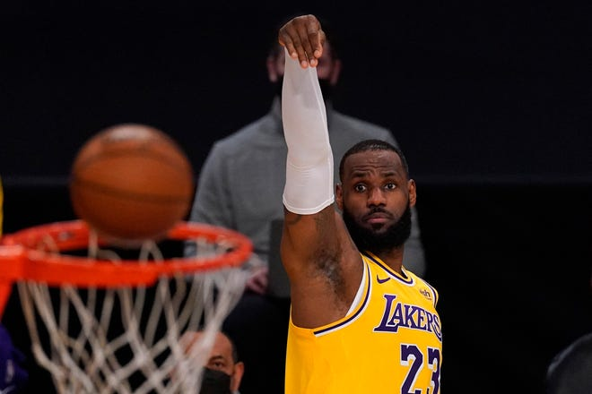 LeBron James is among the frontrunners for the MVP award this season, if not the favorite.