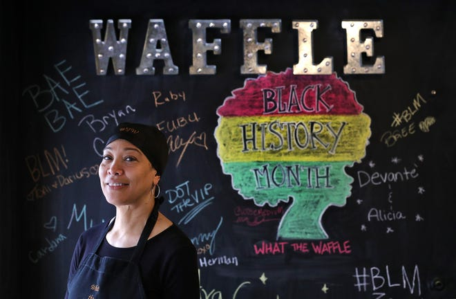 Gayle Troy is the owner of What the Waffle in the King-Lincoln neighborhood.
