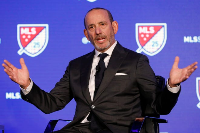 Major League Soccer commissioner Don Garber said Wednesday that 2021 MLS schedules should be finalized and announced by early March.