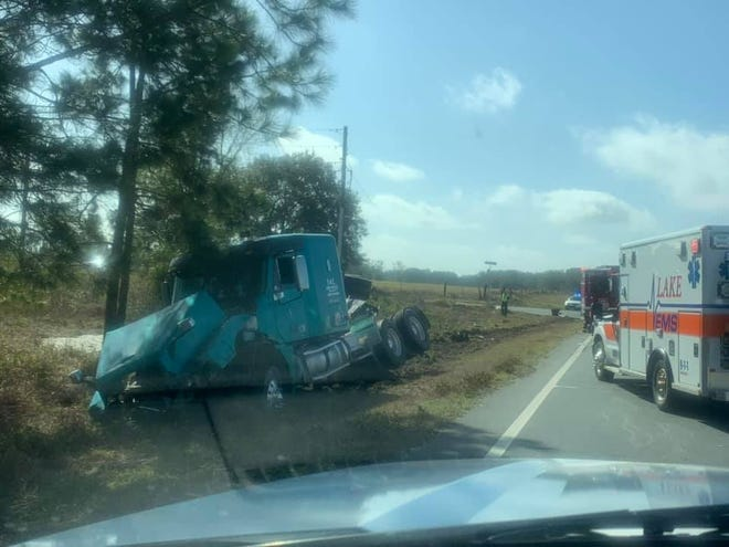 A semi vs. sedan wreck on Tuesday at Austin Merritt Road and County Road 33 ended in the death of two people.