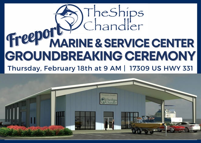 The Ships Chandler to hold groundbreaking in Freeport.