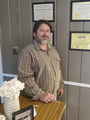 Davidson County native Mark Adams has opened his counseling practice, Restoration for Men, in a new location on East Center Street in Lexington.