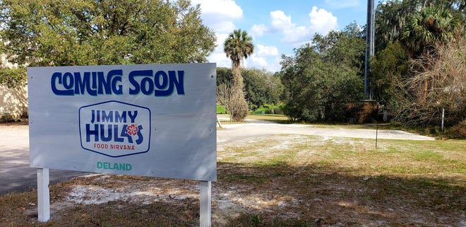 Jimmy Hula's is coming to downtown DeLand. Construction on the surf-shack-themed restaurant, which will be built across from Bank of America on North Woodland Boulevard, is expected to begin this year.