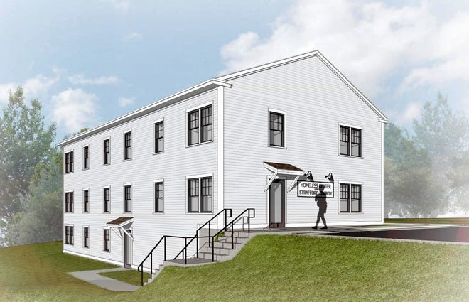 This is the design for Home For Now, the new 40-bed home of Rochester homeless shelter Homeless Center for Strafford County. The design doesn't reflect a recent vote of the center's board of directors to call the shelter Home For Now instead of HCSC.