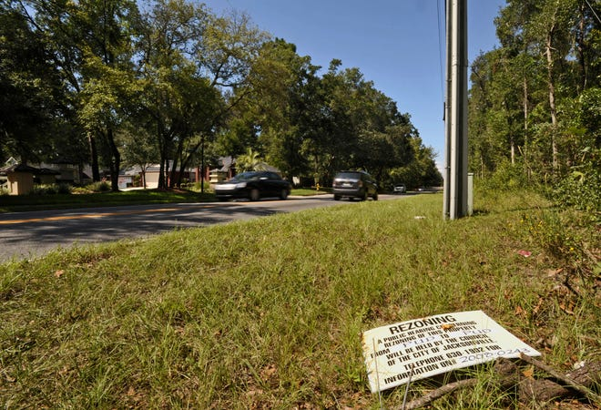 Alta Drive near Misty Marsh Drive is part of the area to be affected by a new $38.4 million JTA MobilityWorks project to widen the road.