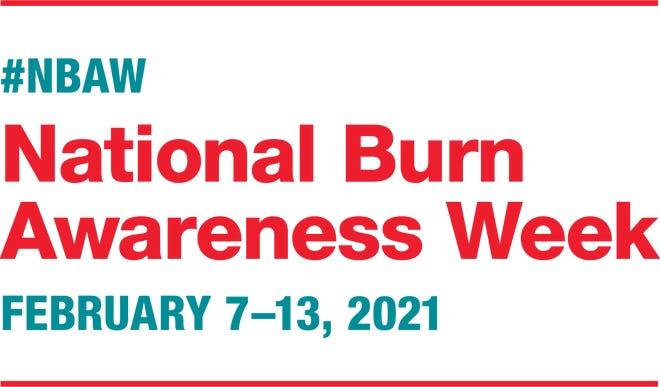 The logo for National Burn Awareness Week, Feb. 7-13, 2021.