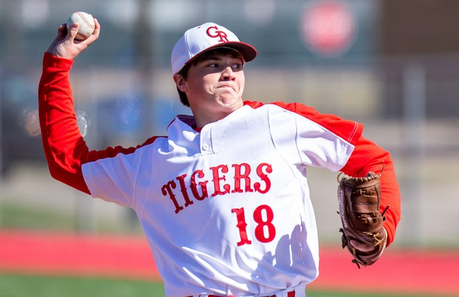 The Glen Rose Tigers baseball team played the first two of five scrimmage games last week before opening the season later this month in Crowley. Glen Rose's Cannon Harper delivers a pitch in Saturday's season-opening scrimmage against Brock. The Tigers also scrimmaged Comanche on Monday. Depending on the weather, they will scrimmage Grandview at home on Friday and Godley at home on Monday.