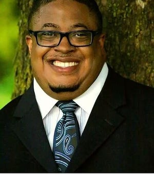 The Rev. Antwon Funches is the pastor of the historic St. Paul Missionary Baptist Church of Freeport.