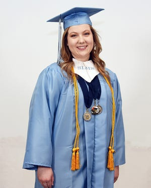 Aden Rouse graduated from South Lenoir High School last June and, by virtue of the college credits she earned through a partnership between LCPS and Lenoir Community College, she is now classified as a member of the senior class at North Carolina State University. [CONTRIBUTED PHOTO]