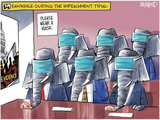 Today's editorial cartoon (Feb. 12, 2021)