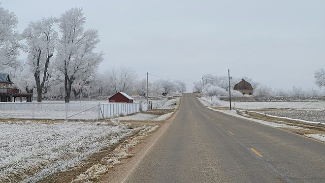 Temperatures were forecast to dip into the single digits this weekend.