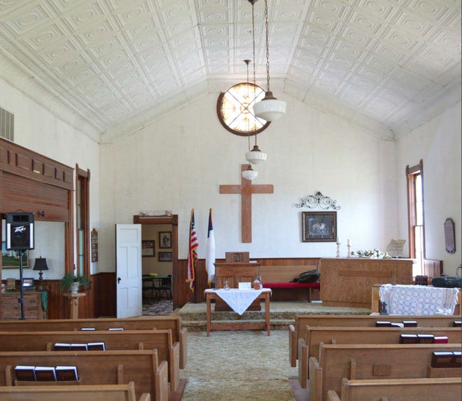 De Graff Community Church will use a historic preservation grant to repair flooring in the church constructed in 1902.