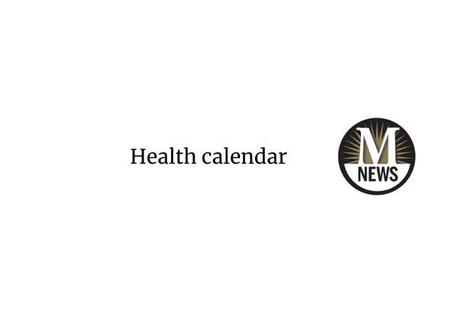 Monroe News health calendar
