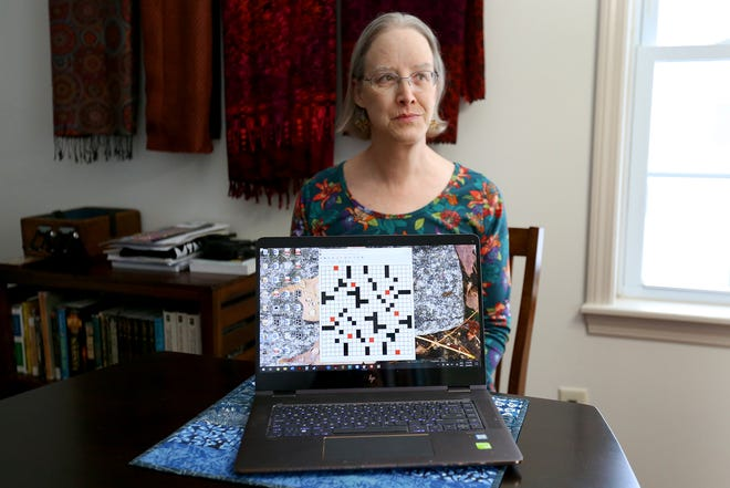 Lisa Bunker, a state representative from Exeter, was recently selected to create a crossword puzzle for the New York Times.