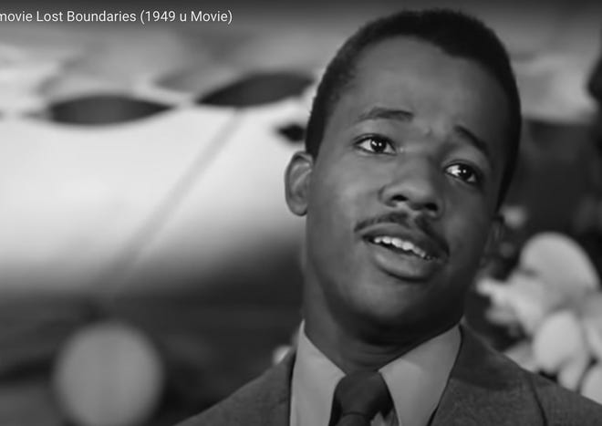 """Acclaimed filmmaker, producer, director, and actor William Greaves (1926-2014) sings a song about lost love in the 1949 film """"Lost Boundaries"""" by Newington producer Louis de Rochemont."""