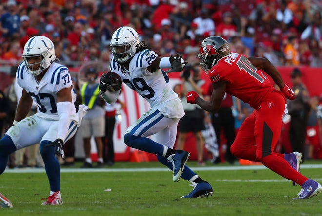 Indianapolis Colts free safety Malik Hooker has battled injuries but could still be a good free-agent signing for the Miami Dolphins.