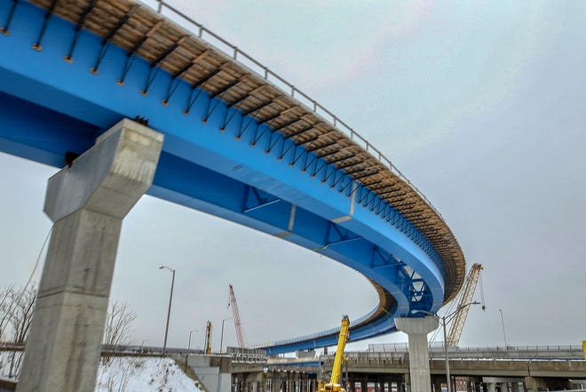 The Route 6-10 Interchange reconstruction project began in 2018and is slated to be finished by the end of 2023.
