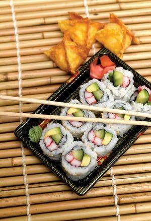 Sushi from Thai Lanna & Sushi Bar in Jackson Township