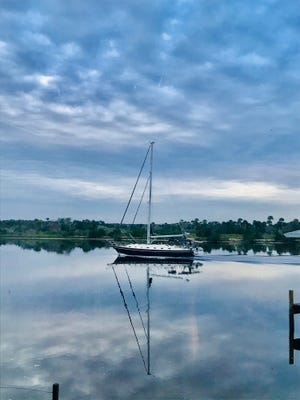 Morning reflections on the Matanzas.
