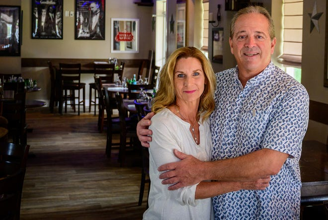 David and Janet Cassirer, owners of Bistro 206, will spend their Valentine's Day entertaining other couples in their Italian restaurant on State Road 206 south of St. Augustine.