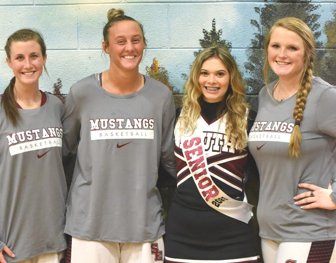 From left are: Mary Taylor, Melanie Zeigler, Kaleigh Sites and Annabelle Sheley.