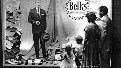 Some of the advertisements from local venders like Belk that appeared in the Wilmington Morning Star in July of 1965.