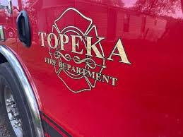 The Topeka Fire Department responded Wednesday to a fire at a North Topeka fitness center.