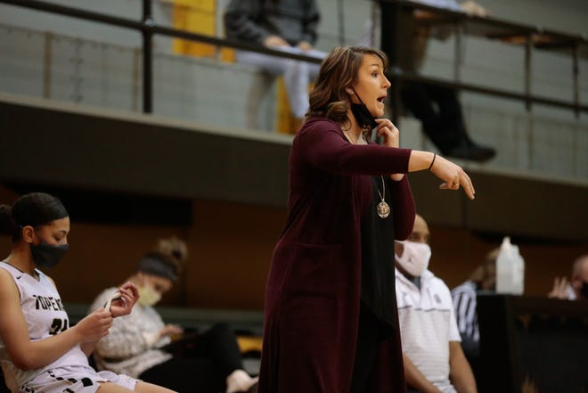 Topeka High coach Hannah Alexander has led the Trojans to a 16-0 mark, 39-game winning streak and the No. 1 ranking in Class 6A from start to finish in the Kansas Basketball Coaches Association rankings.