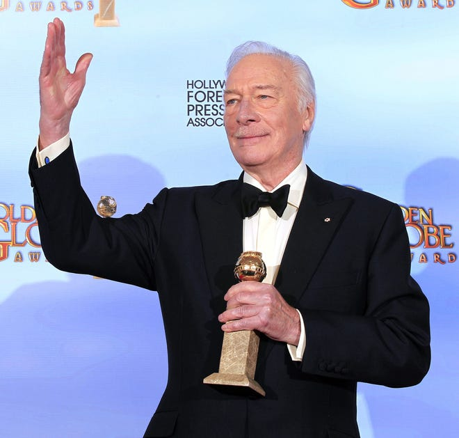 Christopher Plummer at the 69th Annual Golden Globe Awards show in 2012 in Beverly Hills, California.