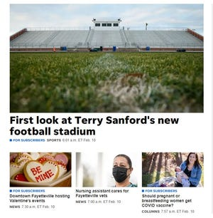 The Fayetteville Observer's website, fayobserver.com, is where you'll find breaking news, in-depth coverage and features from Fayetteville and the surrounding area.