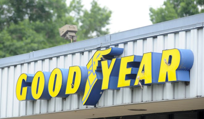 Goodyear's full-year loss for 2020 reflects several significant one-time items, include $625 million in non-cash charges and a $159 million rationalization charge tied to the closing of its tire factory in Gadsden, the company said.