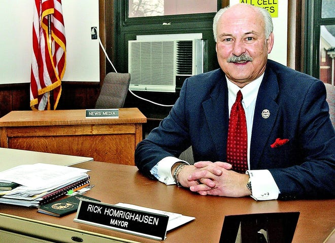 """Rick Homrighausen has been asked by City Council to resign as Dover's mayor. Council cited his """"declining ability"""" to lead the city.The mayor has said he will not resign."""
