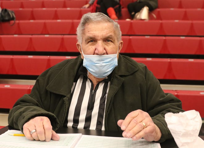 At 92, Dover's Ron Whetstone is still scoring strong for the Crimson Tornadoes boys basketball team.