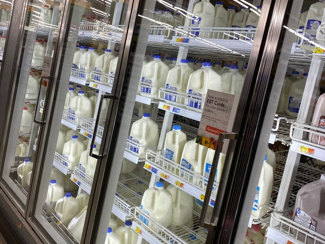 Don't forget the milk when stocking up for winter weather.