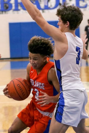 Andre Irvin and Orange had won seven of eight games before playing Hilliard Bradley on Feb. 12 in an OCC-Central Division contest. The Pioneers were 11-6 overall and 3-4 in the league.