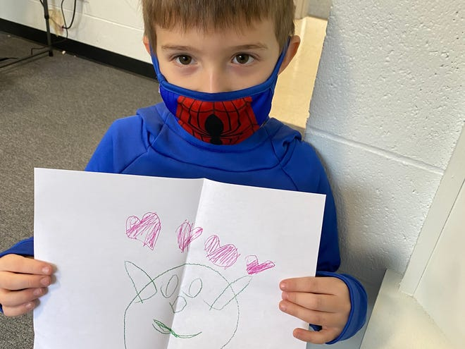 Members of the Boys and Girls Clubs of Stoneham and Wakefield recently made Valentine's Day cards for isolated seniors.
