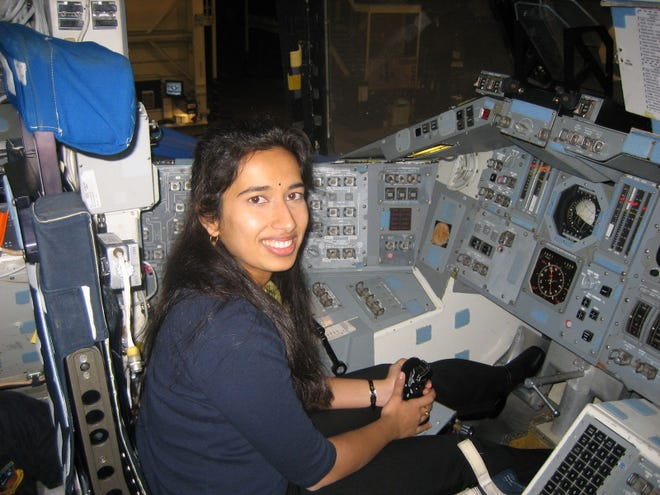 JPL engineer Swati Mohan has been working on the Perseverance landing team for 8 years.