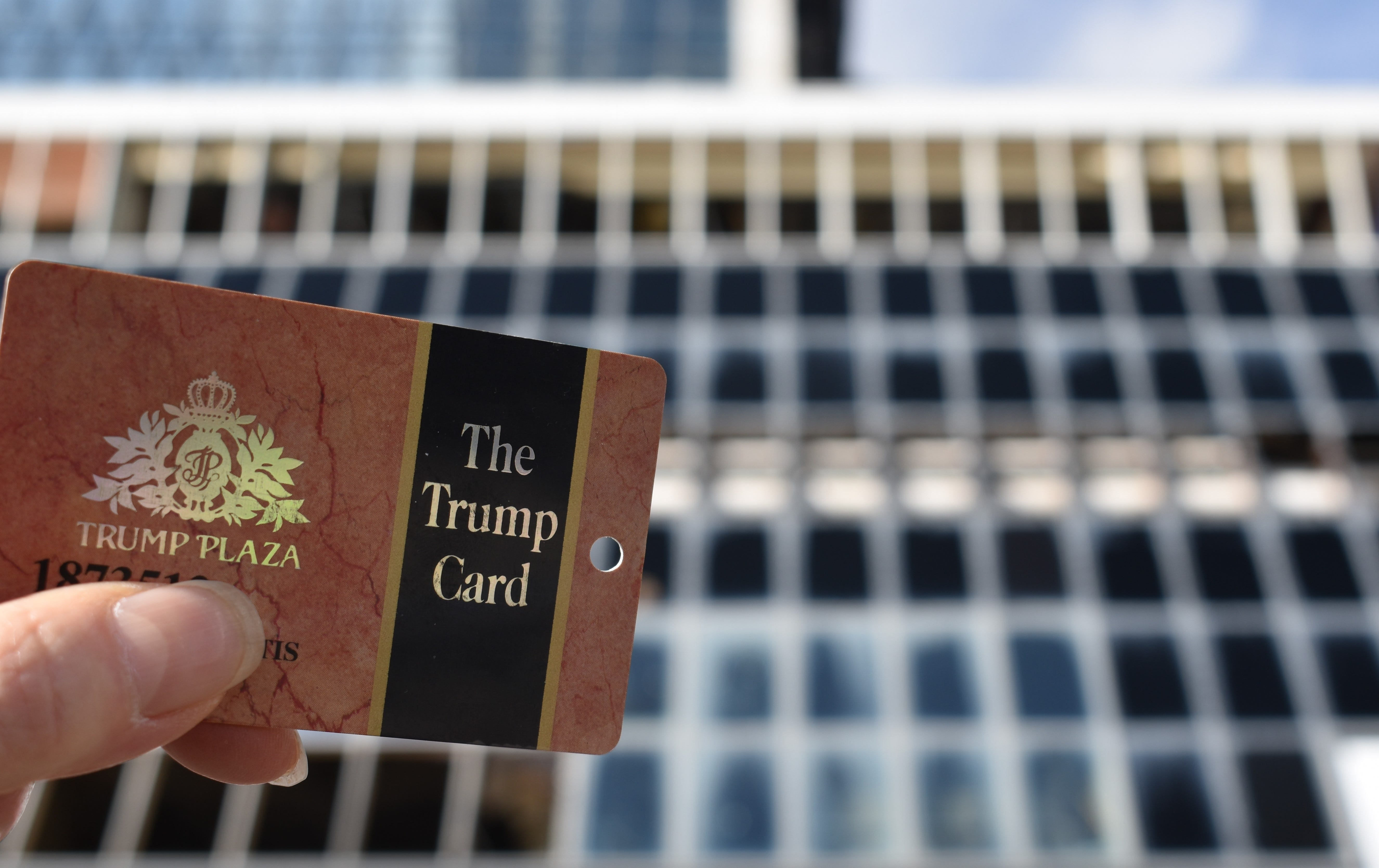 Repeat visitors used such cards at Trump Plaza, which has long been vacant on Atlantic City's Boardwalk.
