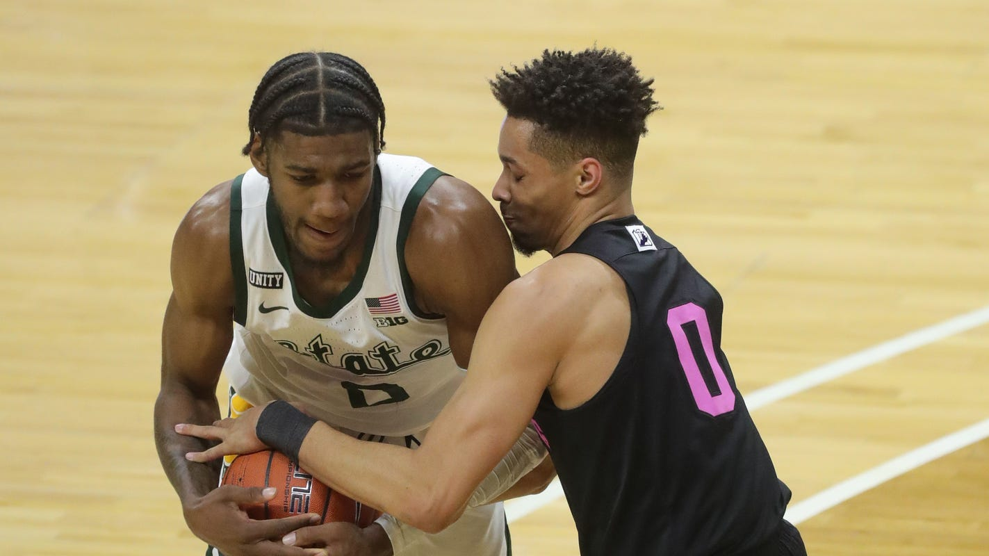Michigan State basketball finds a way to hold off Penn State, 60-58 - Detroit Free Press