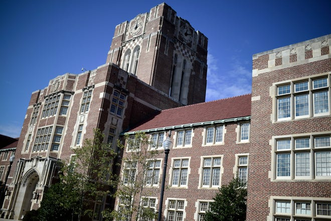 Ayres Hall on the University of Tennessee campus in Knoxville on Wednesday, Feb. 10, 2021. The university's Critical Race Collective has listed five tenets of critical race theory that its members will adhere to.