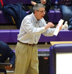 Lancaster boys basketball coach Kent Riggs has guided the Golden Gales to 10 wins so far this season, marking the first time the program has won 10 games in a season in more than a decade.