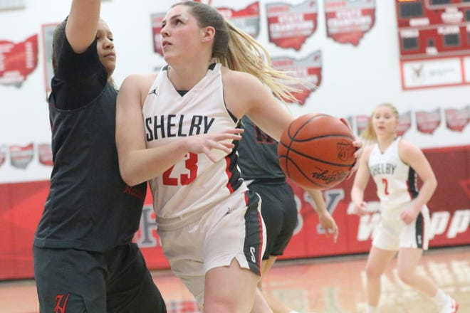Shelby's Oliva Baker has the chance to leave as an all-time great in Shelby girls basketball history.