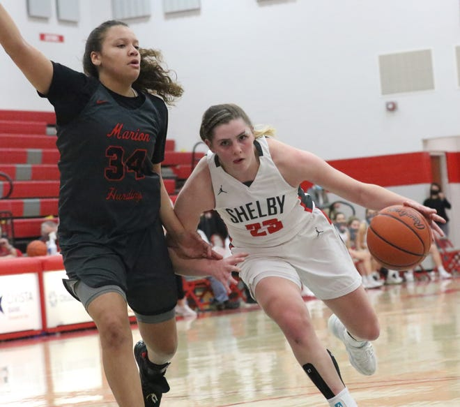 Shelby's Olivia Baker will be key if the Whippets hope to win a district championship.