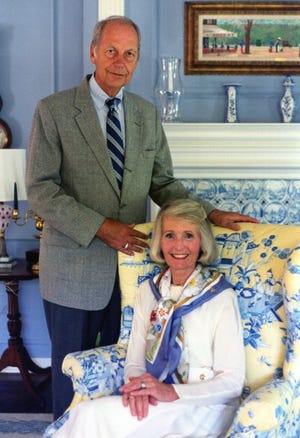 Richard G. Jacobus was born in 1929, pictured here with his wife Carolyn