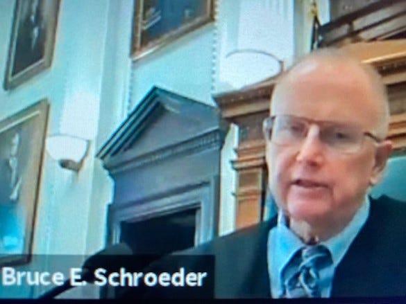 Kenosha County Circuit Judge Bruce Schroeder