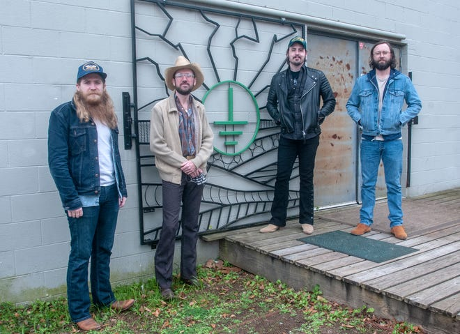 Alex Lyon, Brett Robinson, Jimmy Teardrop and Bradford Dobbs are Alabama Sound Company, a studio band looking to draw in country artists to record with them at Technical Earth Recorders in Montgomery.