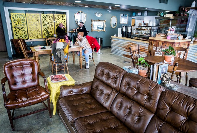 Rosebud Cafe serves coffee and bakery items on S. Hoyt Avenue in Muncie.