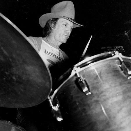 Richie Albright, longtime Waylon Jennings drummer, died Tuesday at age 81.